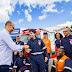 Prefeito Robério entrega nova ambulância para o SAMU Eunápolis