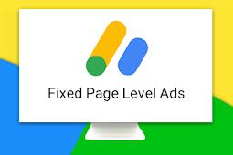 Cara Mengatasi Page Level Ads yang Menggeser Posisi Header