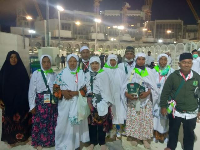 Jemaah Haji Asal Muba dalam Keadaan Sehat