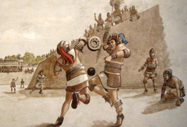 Sepak Bola bangsa Aztek