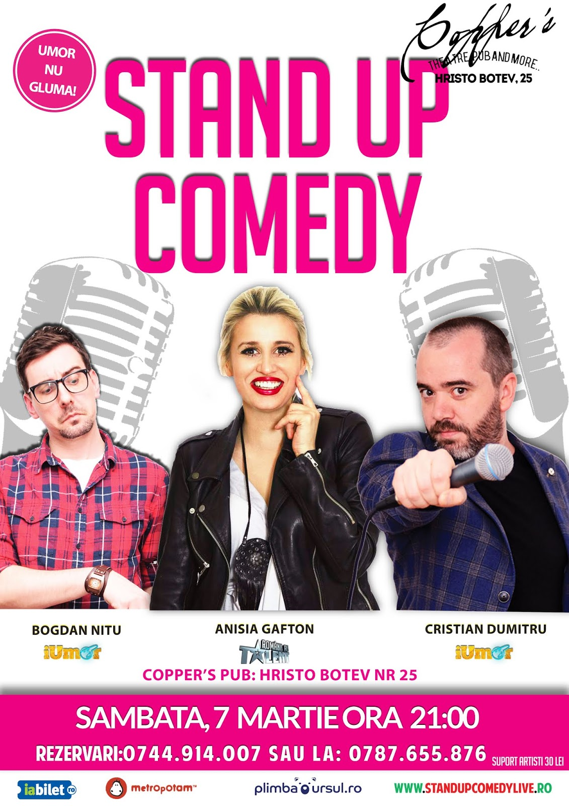 Stand-Up in Bucuresti