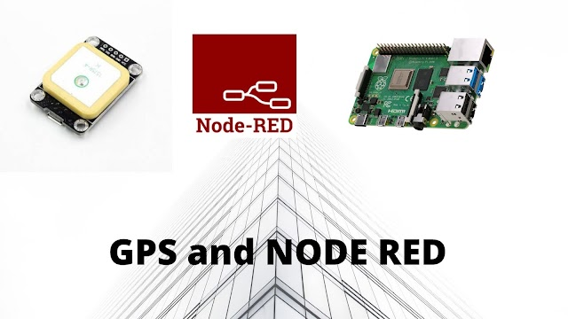 GPS and Node-Red Dashboard - raspberry pi