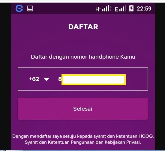Cara Daftar Hooq Telkomsel