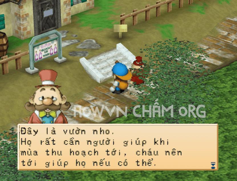 game harvest moon viet hoa ps1 back to nature aowvn%2B%25281%2529 - [PS1] Game Harvest Moon : Back To Nature Việt Hóa | Giả lập Android & PC - tiếp tục làm nông nào