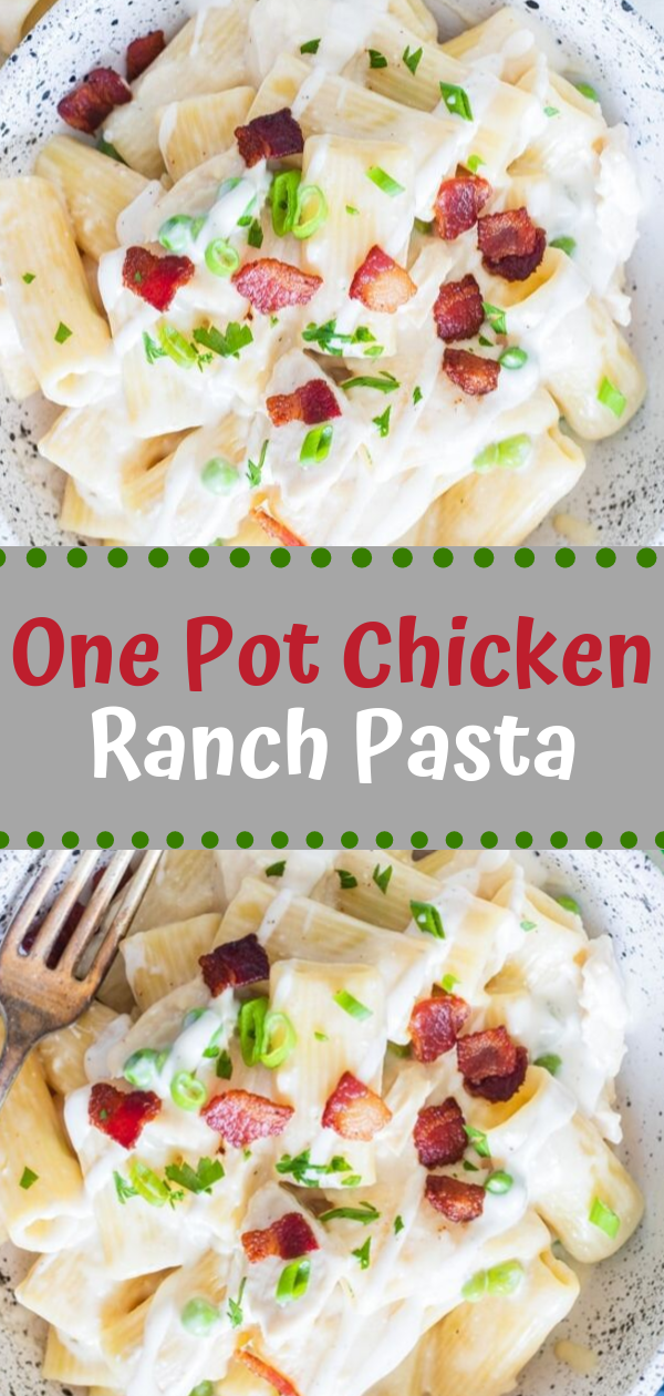 Healthy Recipes | One Pot Chicken Ranch Pasta, Healthy Recipes For Two, Healthy Recipes Simple, Healthy Recipes For Teens, Healthy Recipes Protein, Healthy Recipes Vegan, Healthy Recipes For Family, Healthy Recipes Salad, Healthy Recipes Cheap, Healthy Recipes Shrimp, Healthy Recipes Paleo, Healthy Recipes Delicious, Healthy Recipes Gluten Free, Healthy Recipes Keto, Healthy Recipes Soup, Healthy Recipes Beef, Healthy Recipes Fish, Healthy Recipes Quick, Healthy Recipes For College Students, Healthy Recipes Slow Cooker, Healthy Recipes With Calories, Healthy Recipes For Pregnancy, Healthy Recipes For 2, Healthy Recipes Wraps, Healthy Recipes Yummy, Healthy Recipes Super, Healthy Recipes Best, Healthy Recipes For The Week, Healthy Recipes Casserole, Healthy Recipes Salmon, Healthy Recipes Tasty, Healthy Recipes Avocado, Healthy Recipes Quinoa, Healthy Recipes Cauliflower, Healthy Recipes Pork, Healthy Recipes Steak, Healthy Recipes For School, Healthy Recipes Slimming World, Healthy Recipes Fitness, Healthy Recipes Baking, Healthy Recipes Sweet, Healthy Recipes Indian, Healthy Recipes Summer, Healthy Recipes Vegetables, Healthy Recipes Diet, Healthy Recipes No Meat, Healthy Recipes Asian, Healthy Recipes On The Go, Healthy Recipes Fast, Healthy Recipes Ground Turkey, Healthy Recipes Rice, Healthy Recipes Mexican, Healthy Recipes Fruit, Healthy Recipes Tuna, Healthy Recipes Sides, Healthy Recipes Zucchini, Healthy Recipes Broccoli, Healthy Recipes Spinach,  #healthyrecipes #recipes #food #appetizers #dinner #chicken #pasta