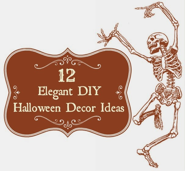 12 elegant diy vintage and shabby chic halloween decor ideas