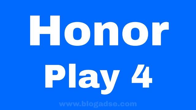 هونر تعلن رسميًا عن هواتف Honor Play 4 بسعر منافس