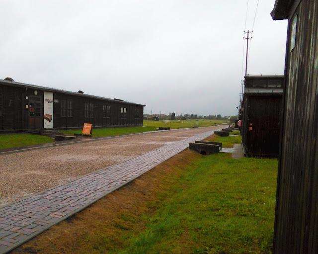 Lublin, Majdanek, obóz koncentracyjny, baraki