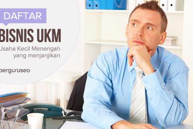 Daftar Bisnis UKM / Usaha Kecil Menengah Yang Menjanjikan