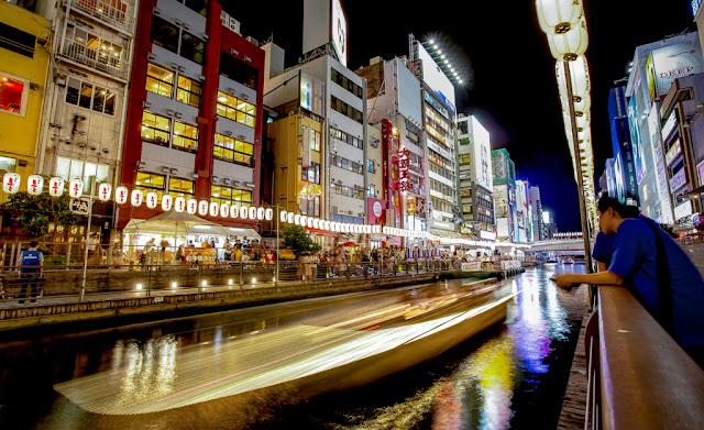 Dotonbori en Osaka :: Canon EOS5D MkIII | ISO100 | Canon17-40@17mm | f/10 | 4.0s