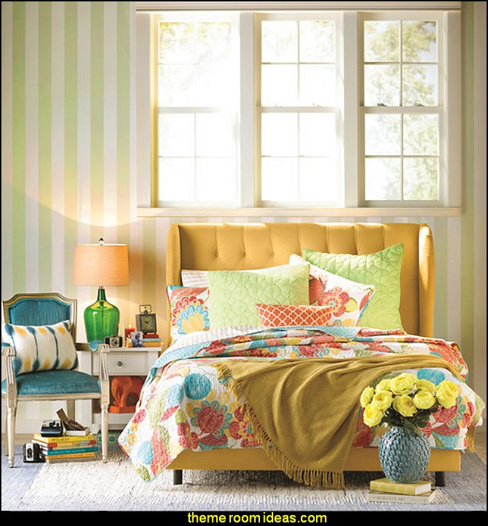 Colorful Room Decor: Maries Manor: Fun And Funky