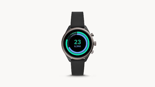 Fossil Sport Smartwatch 41mm Black - FTW6024