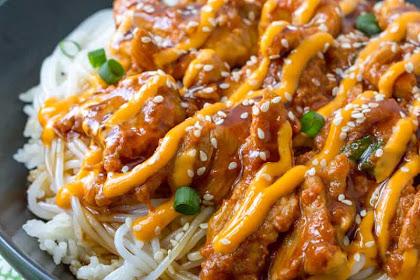 Korean Spicy Pork Bowls