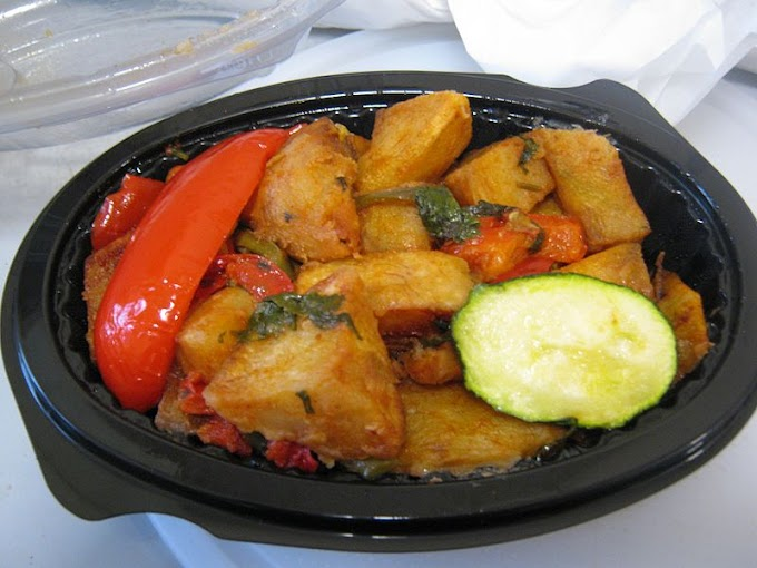 Lebanese Batata Harra (Potato Chilli or Spicy Potatoes)