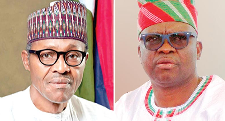Ekiti State governor Ayo Fayose claims his account has been frozen by Buhari