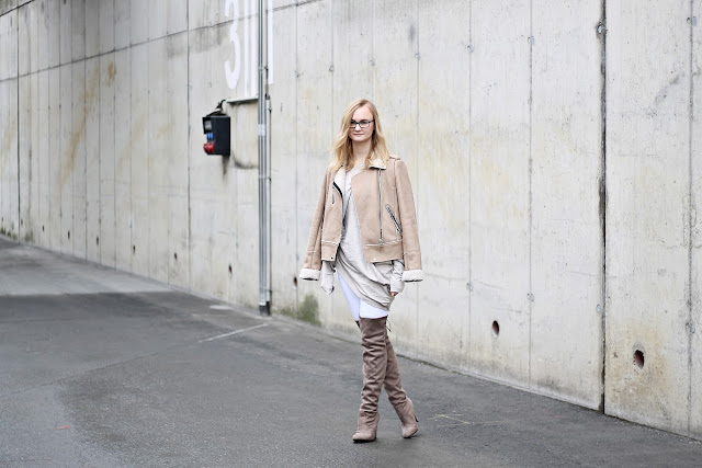 neutral coloured layering