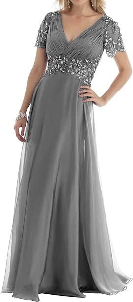 Best Grey Mother of The Bride Dresses