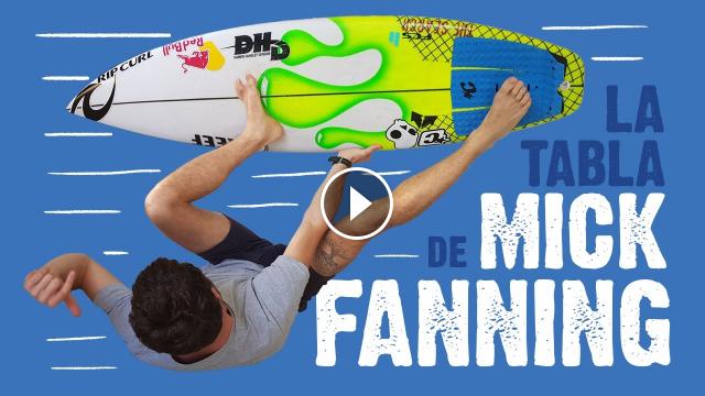 LA TABLA DE MICK FANNING Una historia curiosa cheersMick Best SURFBOARD ever
