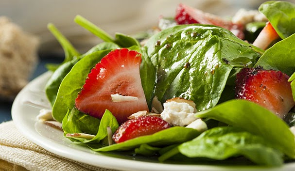 Classic Strawberry & Feta salad