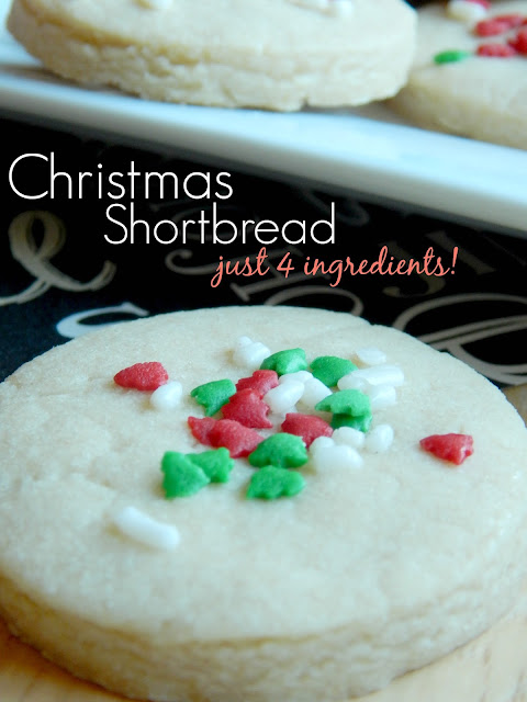christmas shortbread just four ingredients (sweetandsavoryfood.com)