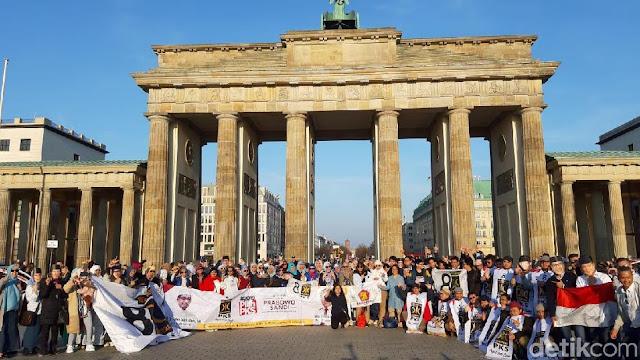 WNI dari Penjuru Eropa Kumpul di Jerman Deklarasi Dukung Prabowo
