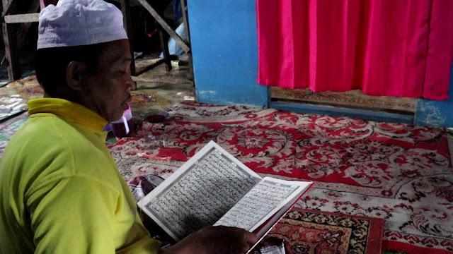 Cerita Bahrun, Guru Mengaji Terdampak Banjir di Desa Lok Baintan: Alquran Terendam hingga Aktivitas Pengajian Terhenti
