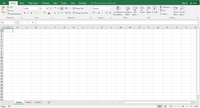2016 Year - Office Excel 2016 (Version 16.0)