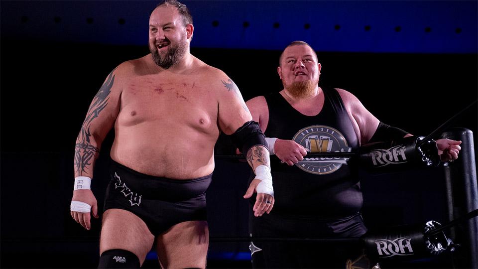 The Bouncers renovam com a ROH