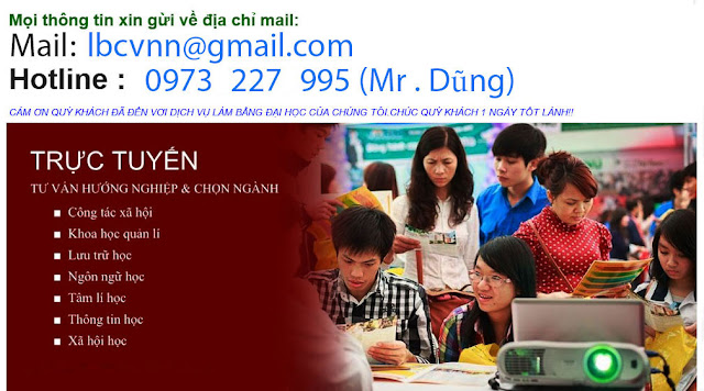 Lam bang dai hoc tai can tho