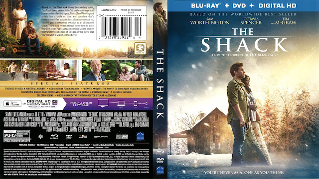 The Shack Bluray Cover