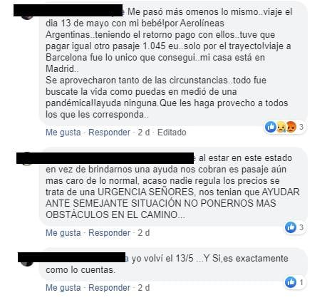 vuelos de repatriación argentina escandalo abuso fraude