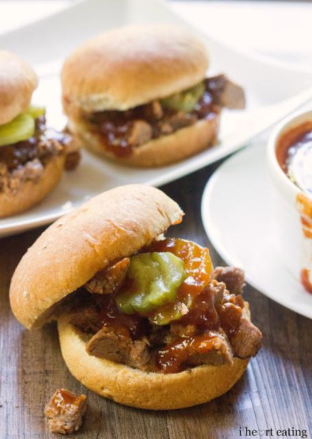 I Heart Eating: Dr. Pepper Brisket Sliders with Dr. Pepper BBQ Sauce