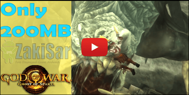200mb] God Of War: Ghost Of Sparta PPSSPP Iso/Cso Ukuran