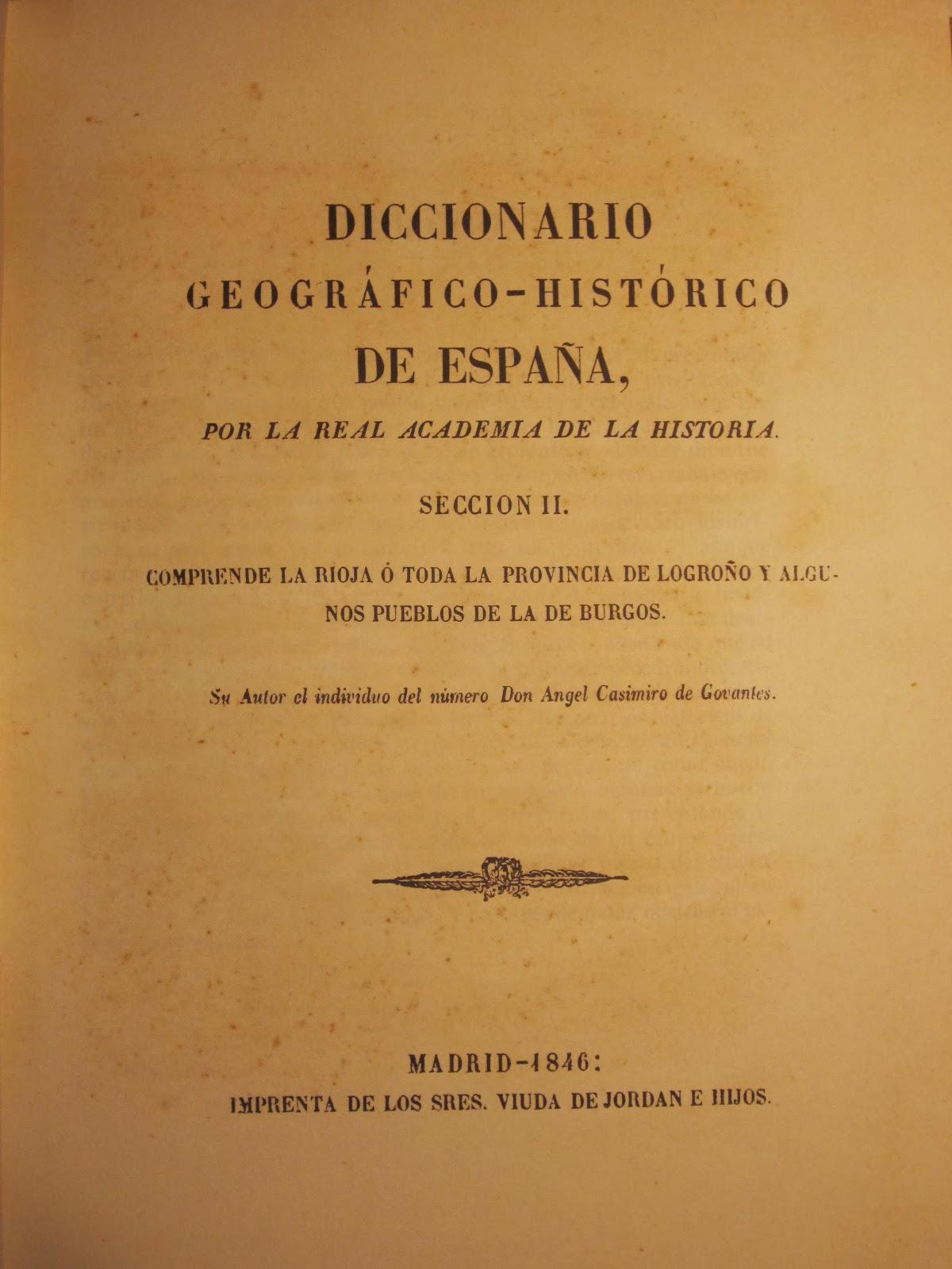 Diccionario de Govantes