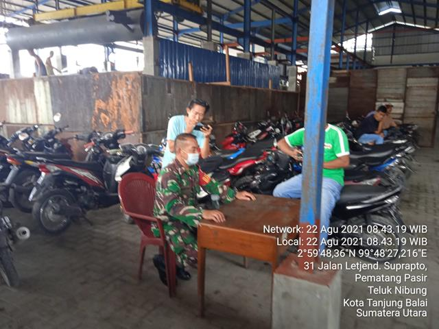 Komunikasi Sosial Dengan Nelayan Dilakukan Personel Jajaran Kodim 0208/Asahan Diwlayah Binaan
