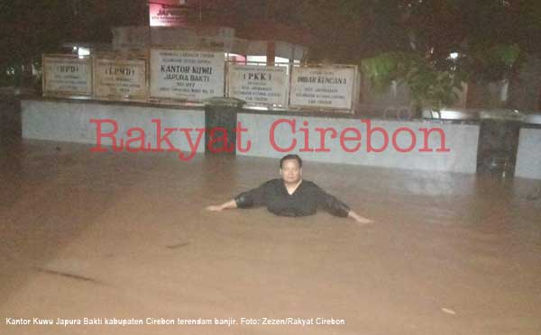 wilayah timur cirebon teredam banjir