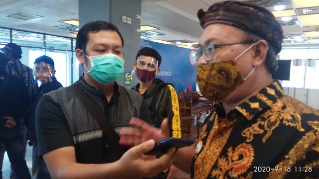 Kepala Otoritas Bandara Wilayah VI Padang Sambut Baik  Disahkan Perda Adaptasi  | dutametro