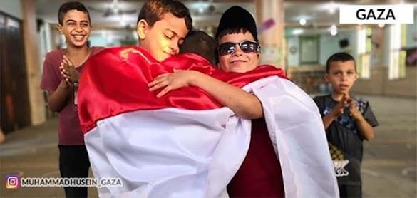 Suara dari Gaza: Allah Masih Sayang Indonesia
