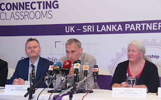 The British Council in Sri Lanka  addressing