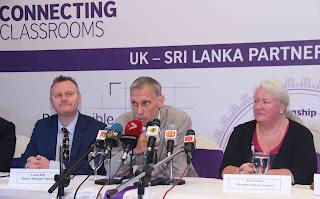 The British Council in Sri Lanka  addressing