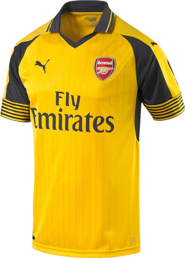 low priced fdc90 3661b Arsenal 16-17 Away Kit Released - Footy Headlines