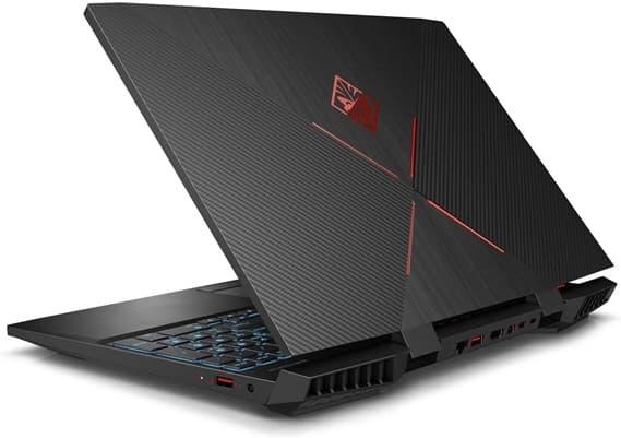 HP OMEN 15-dc1049ns: portátil gaming Core i5 con gráfica GeForce GTX 1650 y teclado retroiluminado en rojo