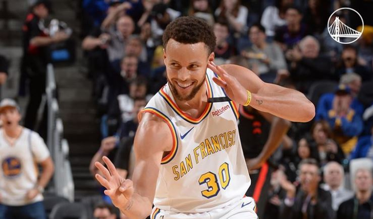 Steph Curry tested positive for the flu on Saturday