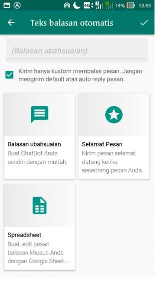 Cara Membuat Soal Ujian Online Menggunakan Aplikasi WhatsApp Auto Respon