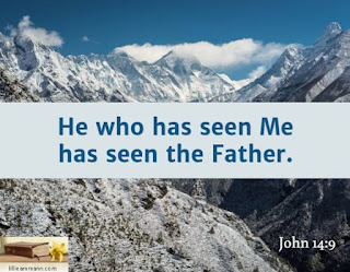 CMR: 9 May 2020 : Good Shepherd - Jesus One With The Father (He Who Has Seen Me Has Seen The Father)