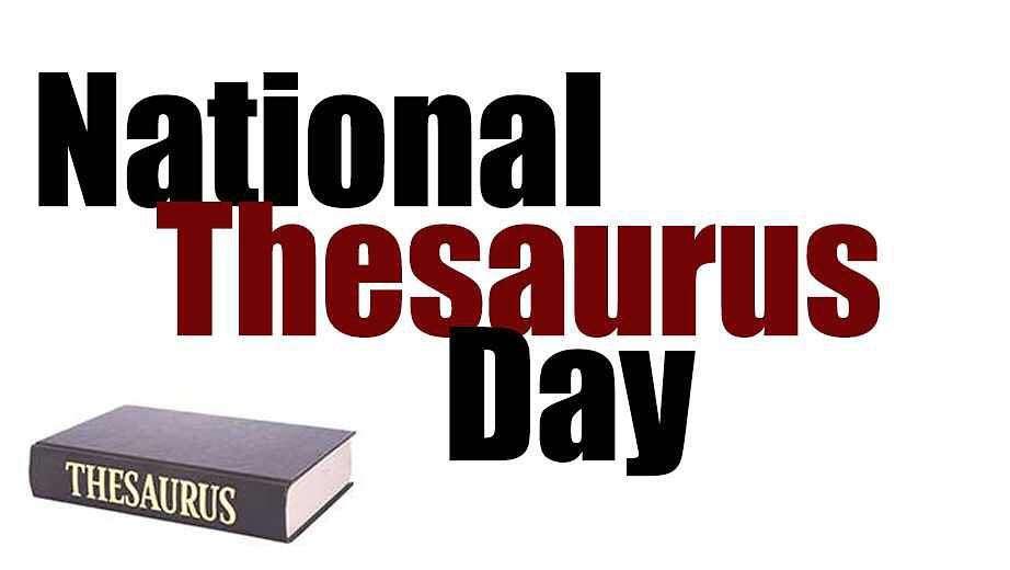 National Thesaurus Day Wishes for Whatsapp