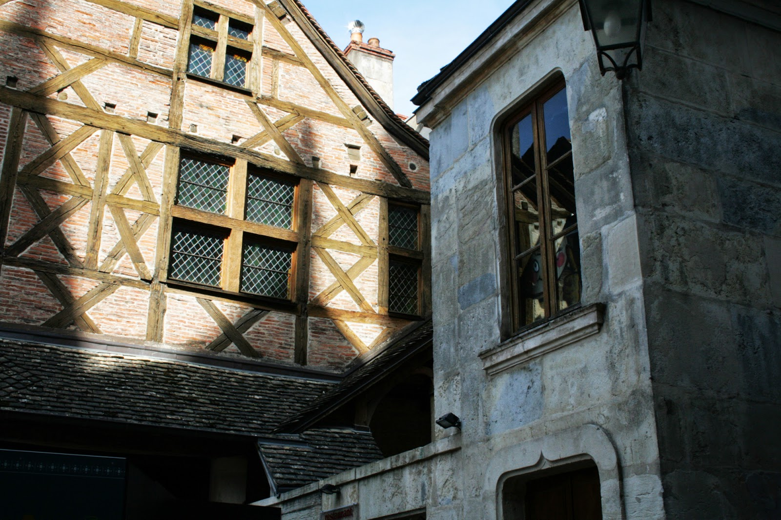 Maison colombage, rue de La Chouette