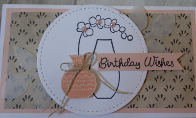 Craftyduckydoodah!, Varied Vases, Stampin Up! UK Independent  Demonstrator Susan Simpson, July 2018 Coffee & Cards Project, Supplies available 24/7 from my online store, #stampinupuk, #lovemyjob,