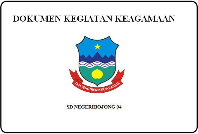 Format Dokumen Kegiatan Keagamaan untuk Berkas Akreditasi Sekolah SD-SMP-SMA