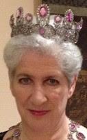 pink topaz parure tiara princess marie wurttemberg charlotte de rothschild
